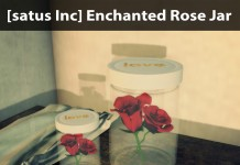 New Release: Enchanted Rose Jar by [satus Inc] - Teleport Hub - teleporthub.com