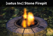 New Release: Stone Firepit by [satus Inc] - Teleport Hub - teleporthub.com