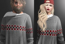 Lonnie Sweater and Lulu Sweater with Shirt For Men and Women Group Gift by Gizza Creations - Teleport Hub - teleporthub.com