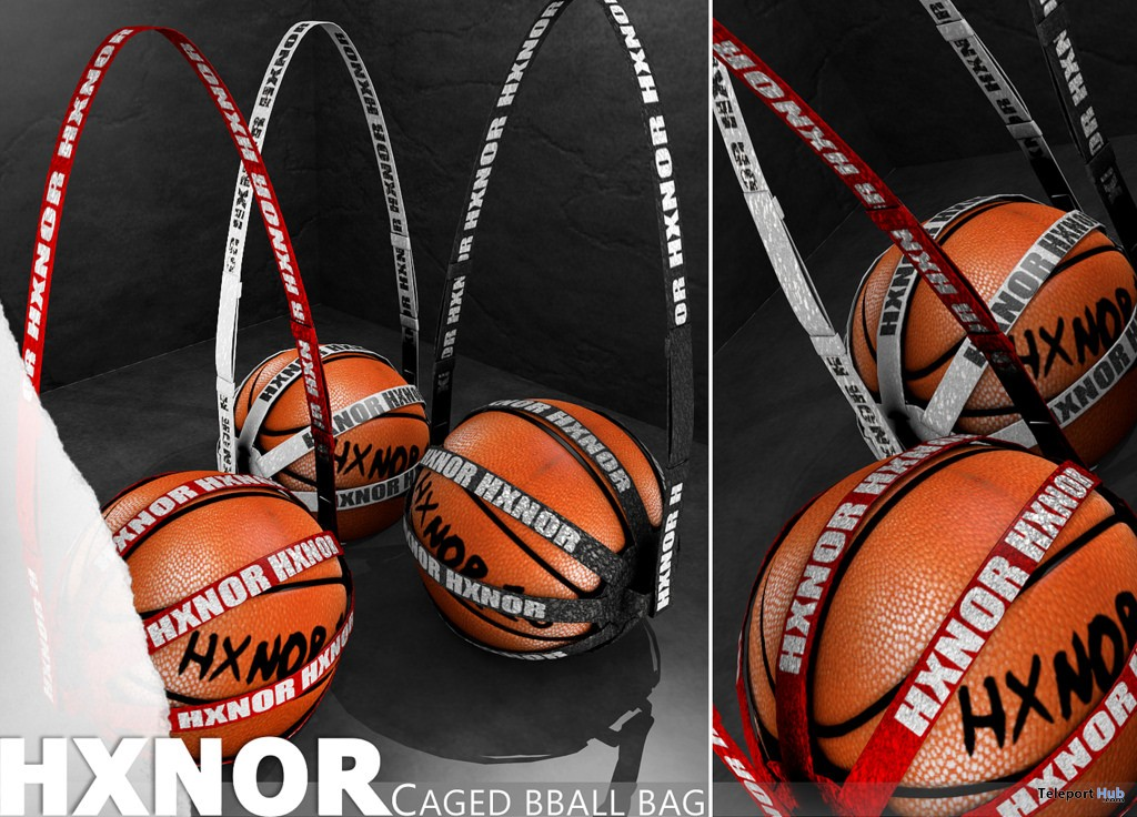 Caged Basketball Bag Group Gift By Hxnor