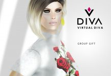 April Skin Group Gift by Virtual Diva - Teleport Hub - teleporthub.com