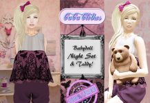 BabyDoll Sleeping Dress Gift by CuCu Clothes - Teleport Hub - teleporthub.com