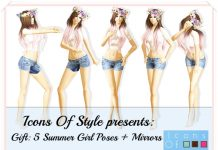 Summer Girl Poses by Icons Of Style - Teleport Hub - teleporthub.com