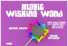 Magic Wishing Wand by Little Llama