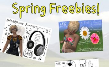 Spring Freebies Fun Items by RC Cluster - Teleport Hub - teleporthub.com