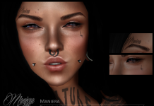 Maniera Face Tattoo 10L Promo by Maniera Ink - Teleport Hub - teleporthub.com