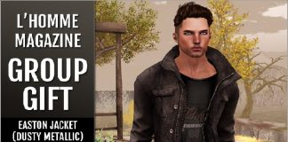Easton Jacket Dusty L'Homme Magazine Group Gift by Cold Ash - Teleport Hub - teleporthub.com