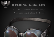 Welding Goggles L'Homme Magazine Group Gift by The Forge - Teleport Hub - teleporthub.com