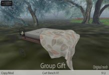Cart Bench Group Gift by M.LAW and Bee Designs - Teleport Hub - teleporthub.com