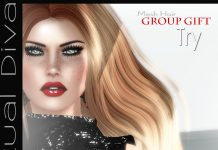 Try Hair Group Gift by Virtual Diva - Teleport Hub - teleporthub.com