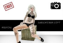 Ready Single Pose Subscriber Gift by Joplino - Teleport Hub - teleporthub.com