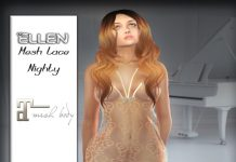 Ellen Lace Night Dress Group Gift by Farspire Fashion Design - Teleport Hub - teleporthub.com