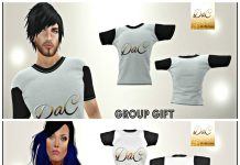DaC T-Shirts For Men and Women Group Gift by Del Alba Creations - Teleport Hub - teleporthub.com