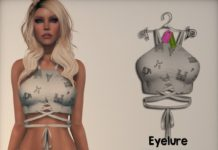 Breezy Tie Top Art White Group Gift by Eyelure - Teleport Hub - teleporthub.com