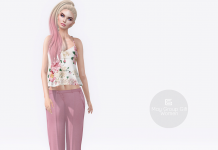 Pink Pants and Top Group Gift by Gizza Creations - Teleport Hub - teleporthub.com