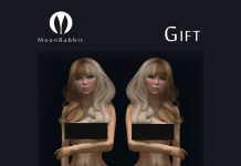White Stockings Gift by Moon Rabbit - Teleport Hub - teleporthub.com