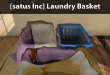 New Release: Laundry Basket by [satus Inc] - Teleport Hub - teleporthub.com