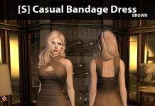New Release: [S] Casual Bandage Dress by [satus Inc] - Teleport Hub - teleporthub.com