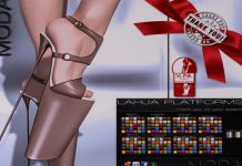 Lahja Heels and HUD Gift by MODA Designs - Teleport Hub - teleporthub.com