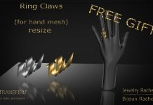 Ring Claws Gift by Bijoux Rachel - Teleport Hub - teleporthub.com