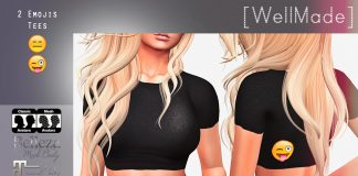 My Mood Tee With Appliers For Mesh Body Group Gift by [WellMade] - Teleport Hub - teleporthub.com