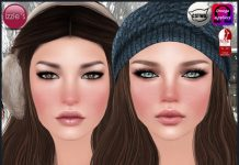 Winter Blush With Mesh Head Appliers Gift by Izzie's - Teleport Hub - teleporthub.com