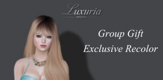 Sakura Group Gift Lingerie Group Gift by Luxuria - Teleport Hub - teleporthub.com