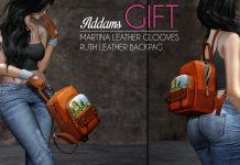 Martina Leather Gloves and Ruth Leather Backbag Group Gift by Addams - Teleport Hub - teleporthub.com