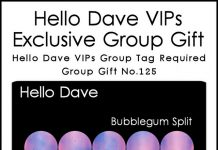 Bubblegum Split Group Gift by Hello Dave - Teleport Hub - teleporthub.com