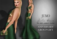 Julia Gown Aniversary Group Gift by JUMO - Teleport Hub - teleporthub.com