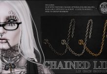 Chained Lip Group Gift by Le Morte - Teleport Hub - teleporthub.com