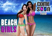 Beach Girls Gift by Come Soon Poses - Teleport Hub - teleporthub.com