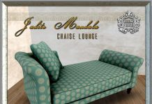 Jadite Mandala Chaise 800 Members Group Gift by The Vintage Touch - Teleport Hub - teleporthub.com
