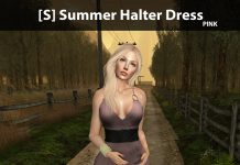New Release: [S] Summer Halter Dress by [satus Inc] - Teleport Hub - teleporthub.com
