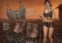 Free Spirit Three Pieces Set Outfit Group Gift by Petite Mort - Teleport Hub - teleporthub.com