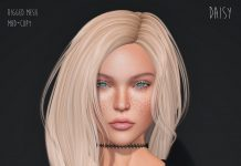 Daisy Hair Group Gift by Entwined - Teleport Hub - teleporthub.com