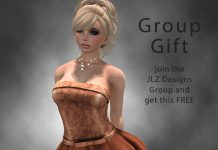 Fall Gown Group Gift by JLZ Designs - Teleport Hub - teleporthub.com