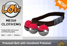 Pokemon Trainer Belt by Loki - Teleport Hub - teleporthub.com