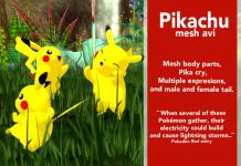 Basic Pikachu Avi Gift by NAM's freebies - Teleport Hub - teleporthub.com