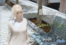 Off Shoulder Sweater & Skirt Group Gift by M*Motion - Teleport Hub - teleporthub.com