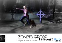 Zombie Grasp Couple Pose & Prop October 2016 Group Gift by Something New - Teleport Hub - teleporthub.com