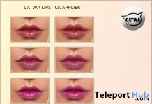 Backstage Lips Stain Catwa Head Applier Group Gift by The Skinnery - Teleport Hub - teleporthub.com