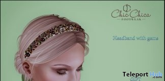 Headband with Gems Gift by ChicChica - Teleport Hub - teleporthub.com