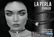 La Perla Chocker Group Gift by !NFINITY - Teleport Hub - teleporthub.com