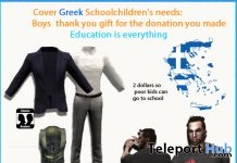 Cover Greek School Children's Needs Men Gifts by AmAzInNg CrEaTiOnS - Teleport Hub - teleporthub.com