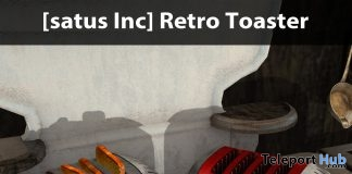 New Release: Retro Toaster by [satus Inc] - Teleport Hub - teleporthub.com
