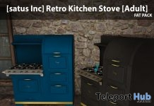 New Release: Retro Kitchen Stove by [satus Inc] - Teleport Hub - teleporthub.com