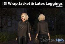 New Release: [S] Wrap Jacket & Latex Leggings by [satus Inc] - Teleport Hub - teleporthub.com