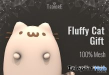 Fluffy Cat Gift by Tediore - Teleport Hub - teleporthub.com