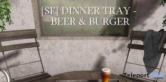 Burger & Beer Tray Group Gift by Shutter Field - Teleport Hub - teleporthub.com